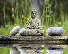 Meditation. Peace. Buddha.