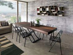 wooden coffee tables, italia and coffee tables on pinterest - Consolle Byblos Tavolo Allungabile Legno Massello