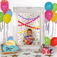 Children's Party Photobooth Frame - children's parties