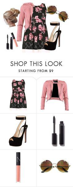"""look #31"" by valentinemalinski ❤ liked on Polyvore featuring Samya, Fracomina, Prada, Chanel and NARS Cosmetics"
