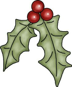 Holly leaves and beries Christmas Rock, Christmas Holidays, Christmas Decorations, Xmas, Christmas Ornaments, All Things Christmas, Christmas Graphics, Christmas Clipart, Christmas Images