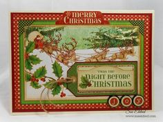Card: Twas the Night Before Christmas Card