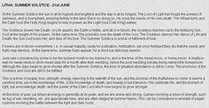 History of Litha