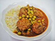 754. Iraqi Meatball Pea Stew – Maryam's Culinary Wonders