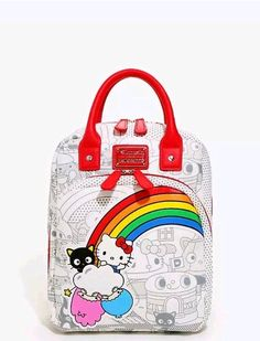 3a1499487305 Hello Kitty Sanrio Backpack Bag Loungefly Sold out Retro Mini