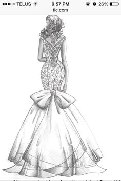 Back of dream dress