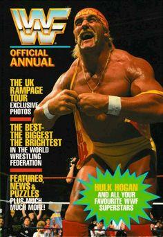 Vintage WWF Superstars of Wrestling Hulk Hogan by ShopHereVintage Wwe Lucha, New Hulk, Wwe Hulk Hogan, Wwf Superstars, Wrestling Stars, Athletic Men, John Cena, Wwe Wrestlers, Professional Wrestling