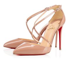 77. Nude pumps  Pictured: Shoes - Cross Blake (Christian Louboutin)