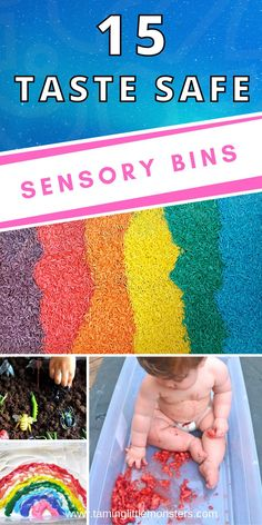 Sensory Bins, Sensory Activities, Sensory Play, Activities For Kids, Rainbow Crafts, Sensory Processing Disorder, Games For Toddlers, Toddler Play, Gross Motor Skills