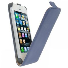 Kltrade - Funda exclusive iphone 5 azul y film protector de pantalla de Kltrade, http://www.amazon.es/dp/B00GWKXHYS/ref=cm_sw_r_pi_dp_.Bp.sb02S0EGT