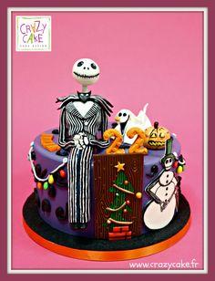 """Gâteau d'anniversaire """"L'étrange noël de Mr Jack"""""""