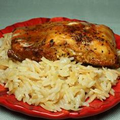 Sarah's Rice Pilaf Recipe - Allrecipes.com - What a flavorful accompaniment for salmon or any entree!
