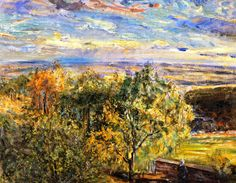 The Athenaeum - Palatinate Landscape (Max Slevogt - )