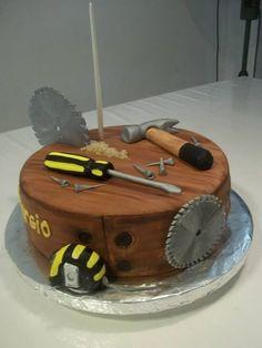 Resultado de imagen para tortas para hombres Birthday Cakes For Men, Cakes For Boys, Beautiful Cakes, Amazing Cakes, Fondant Cakes, Cupcake Cakes, Mechanic Cake, Dad Cake, Decoration Patisserie