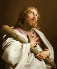 The Athenaeum - God and the Twelve Apostles - Saint James the Less (Pompeo Batoni - )