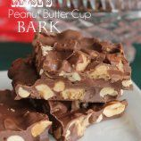 Reese's Peanut Butter Cup Bark - Chocolate Chocolate and More!