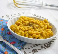 This is the last mac and cheese recipe you will ever need. So much better than the beloved blue box, and it's vegan and low fat!
