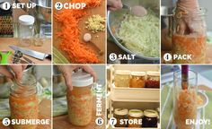Make your own gut-healing sauerkraut. Super-simple to make. Learn by making a small batch of sauerkraut in a 1-quart jar. Many tips and photos ensure success.