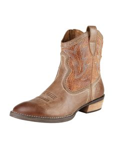 I love these...... Ariat Women's Billie Boot - Tan Brunido