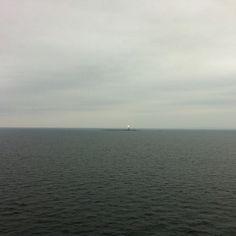 The Torbjørnskjær Fyr or Lighthouse in the Oslofjorden