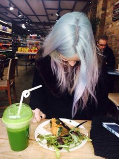 bleach london hair -gemma's faded colour - this was exactly the hair colour i was thinking of!!!!