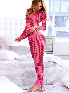 Love these thermal pajamas! So great for winter!