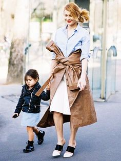 These Street Style Moms and Tots Will Melt Your Heart - Street Style