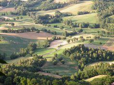 le colline in provincia di Terni
