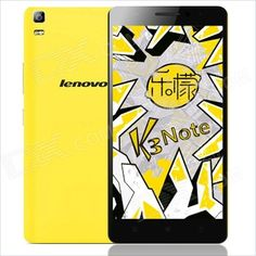 "Lenovo K3 Note Android 5.0 MTK6752 Octa Core 4G Phone w/ 5.5""FHD, 2GB RAM,16GB ROM,13.0+5.0MP- Yellow & 3 other fasion colours. From 149,= Euro 97,50"