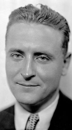 Ernest Hemingway remarked on F. Scott Fitzgerald's lovely Irish face
