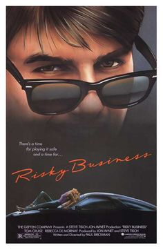 """""""Sometimes, you just gotta say...."""" 80s memories... why couldn't Tom Cruise have stayed so good."""