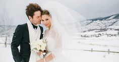 "Daisy Fuentes and Richard Marx tell Us Weekly in an exclusive statement that they ""couldn't be happier"" after marrying in Aspen, CO., on Wednesday, Dec. 23 – get all the details and see their pics"