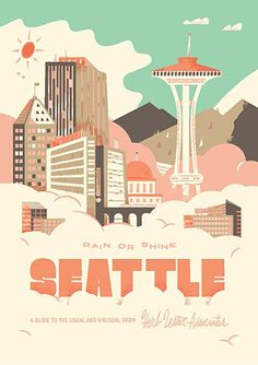 Seattle, rain or shine Travel Guide | Herb Lester Associates.