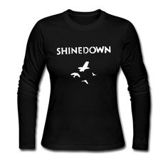 SFMY Women's Shinedown Sound Of Madness Long Sleeve T-shirt Size M Black