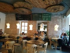 Kontakt Cafe - Coolest place to hang with locals #bratislava