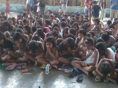Praying children