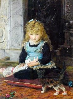 Puss in Boots by John Everett Millais, 1877