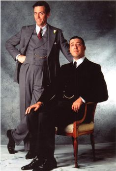 One of my FAVORITE BOOKS--all of the Jeeves and Wooster books! Love the show too!
