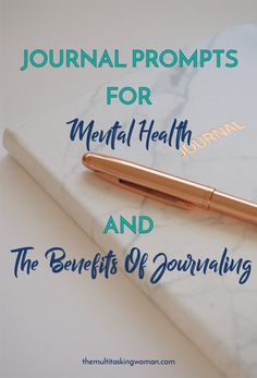 Some might think that writing in a journal and using journal prompts for mental health sounds a little cliché, but it can be a driving force for impro
