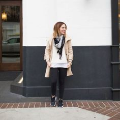 How to Style Black Leggings - The Chic Site
