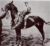1907 Kentucky Derby winners Pink Star and Andy Minder. Photo source: X