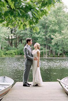 Lakeside Wedding at Cedar Lakes Estate :: Ashley & Chris