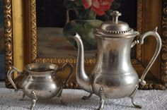 French Antique Tea Set  French Antique Coffee by FrenchArtAntiques