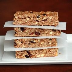Peanut Butter and Jelly and Granola Bars