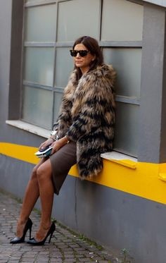 fur coats - street style (7)