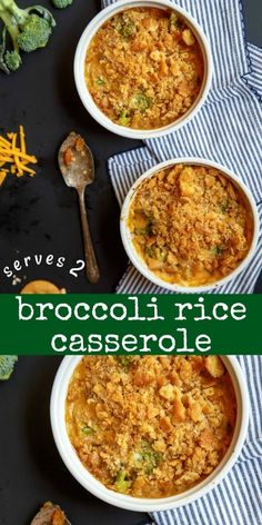 Broccoli Cheese Rice Casserole, Potato Bacon Soup, Broccoli And Cheese, Fresh Broccoli, Veggie Side Dishes, Vegetable Dishes, Vegetable Recipes, Food Dishes, Rice Dishes