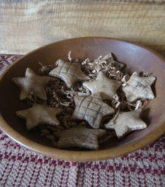 Simple Stars Salt Dough Bowl Fillers