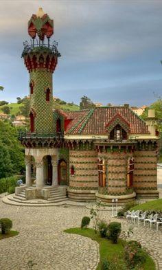 El Capricho de Gaudí.Comillas.Cantabria.