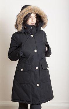 Highland Parka DK Navy Melton | Engineered garments, Highlands and ...