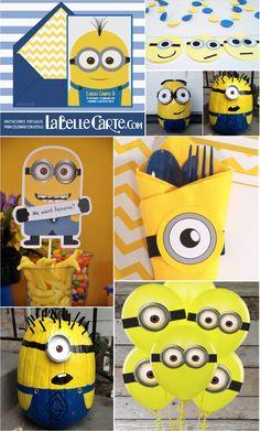 Invitaciones Infantiles, Invitaciones para fiestas Infantiles, Cumpleanos de minions, Fiesta de minion, decoracion cumpleanos minion